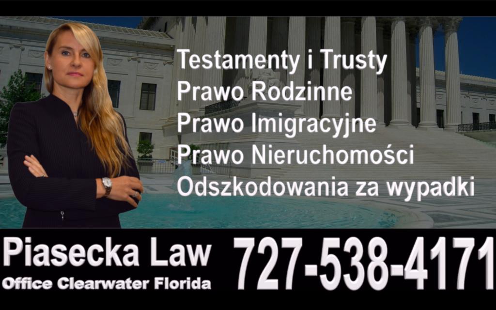 Miami, Florida, Polish, Attorney, Lawyer, Polski, Prawnik, Adwokat, Floryda, USA, Agnieszka Piasecka, Aga Piasecka, Piasecka